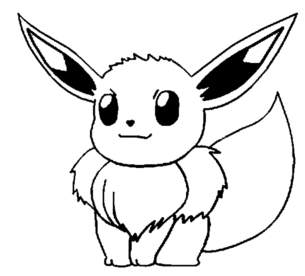 1000x907 Pokemon Coloring Pages Easy