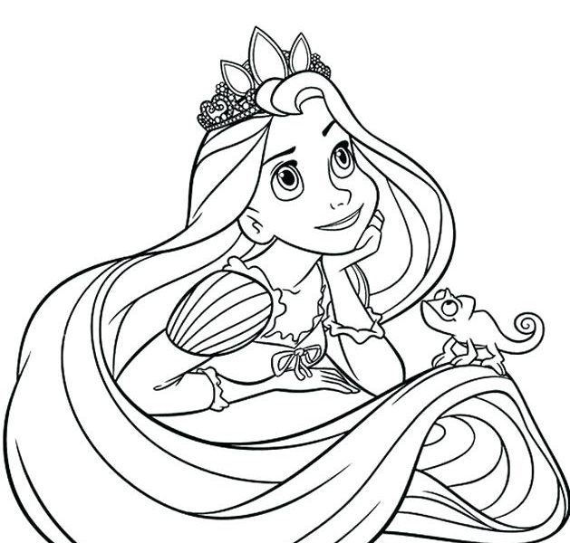 629x600 Disney Princess Coloring Book Free Download Coloring Games Disney