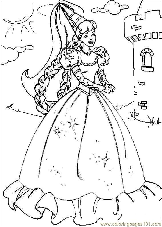 567x794 Free Princess Colouring Pages Free Printable Princess Colouring