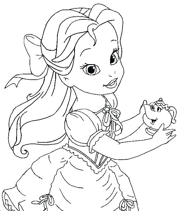 610x707 Princess Coloring Pages For Coloring Coloring Pages Easy Princess