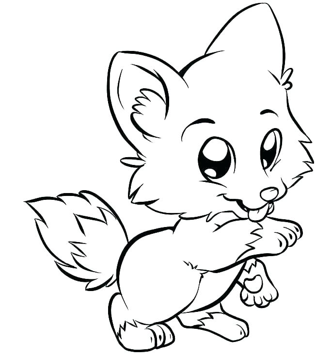 652x736 Cute Easy Coloring Pages Cute Baby Animal Coloring Pages Also Cute