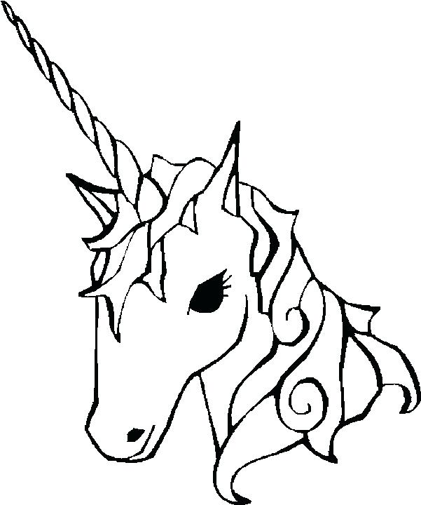 601x720 Cute Easy Coloring Pages Cute Unicorn Coloring Pages For Girls