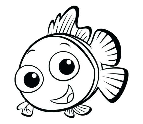 580x501 Cute Easy Coloring Pages Gallery For Drawings Of Animals Kids