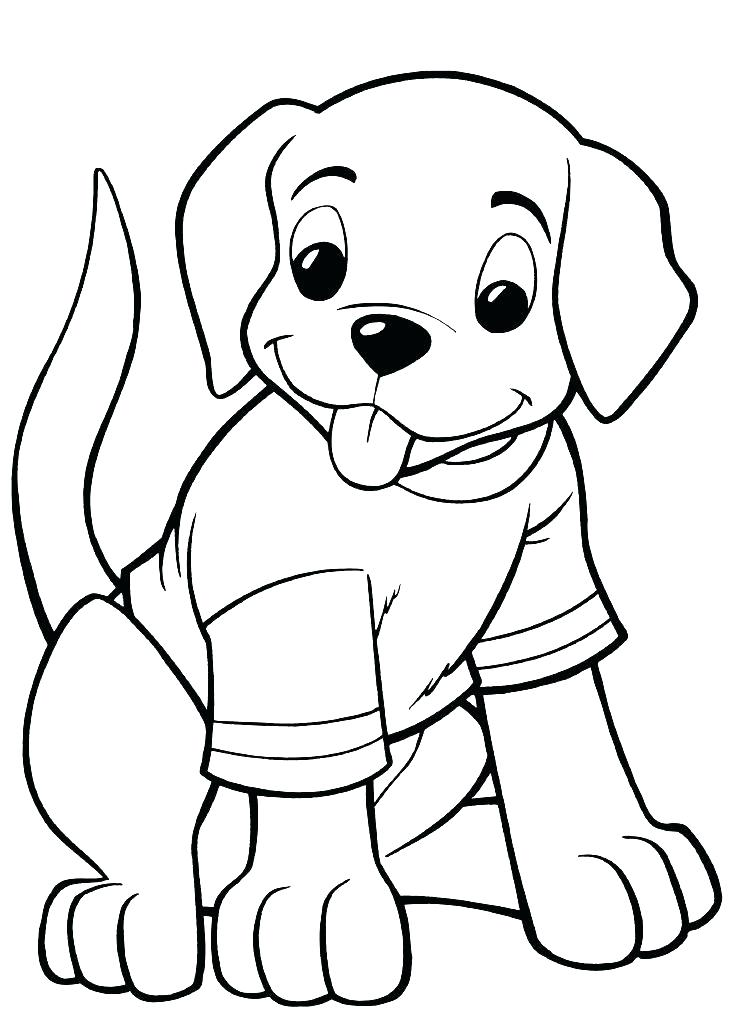 748x1009 Cute Easy Coloring Pages Puppies Coloring Page Puppy Coloring