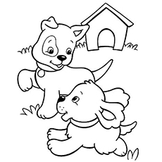 230x230 Top Free Printable Puppy Coloring Pages Online Coloring Pages