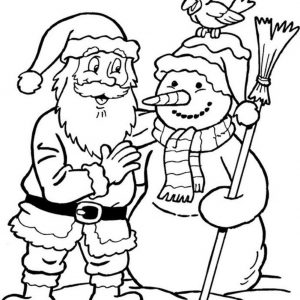 300x300 Easy Santa Coloring Pages New Coloring Pages Santa Claus Santa