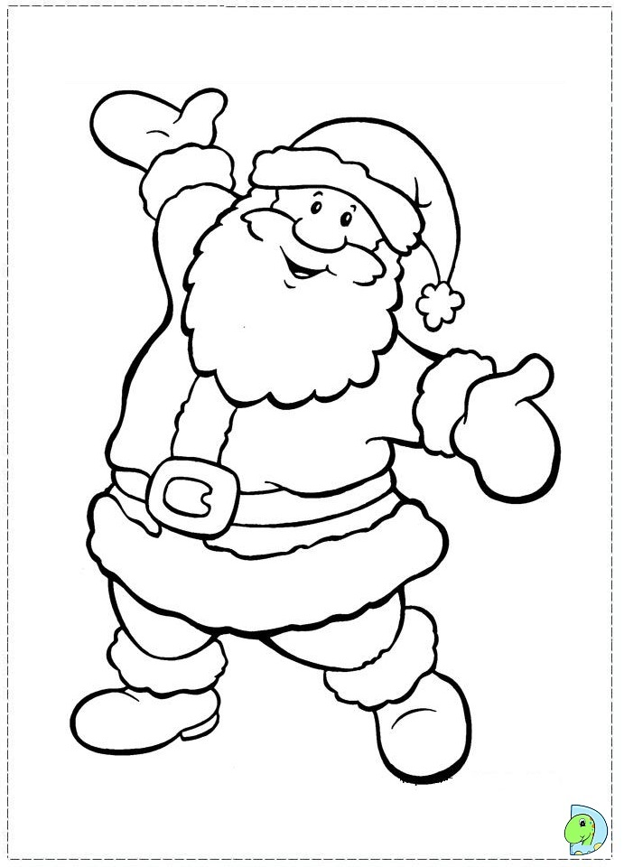 691x960 Santa Claus Pictures For Coloring Santa Claus Coloring Pages