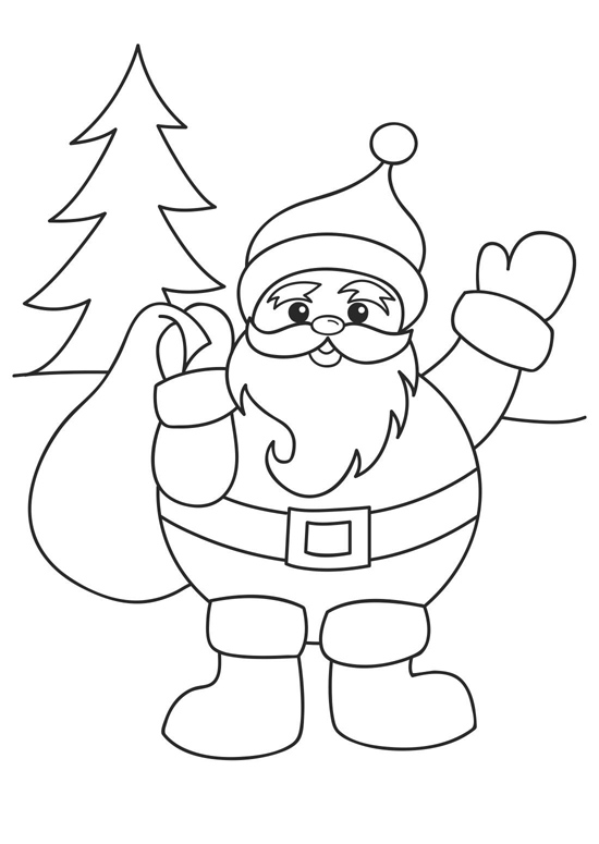 550x775 Xmas Coloring Pages For Kids Coloring Pages For Christmas Free