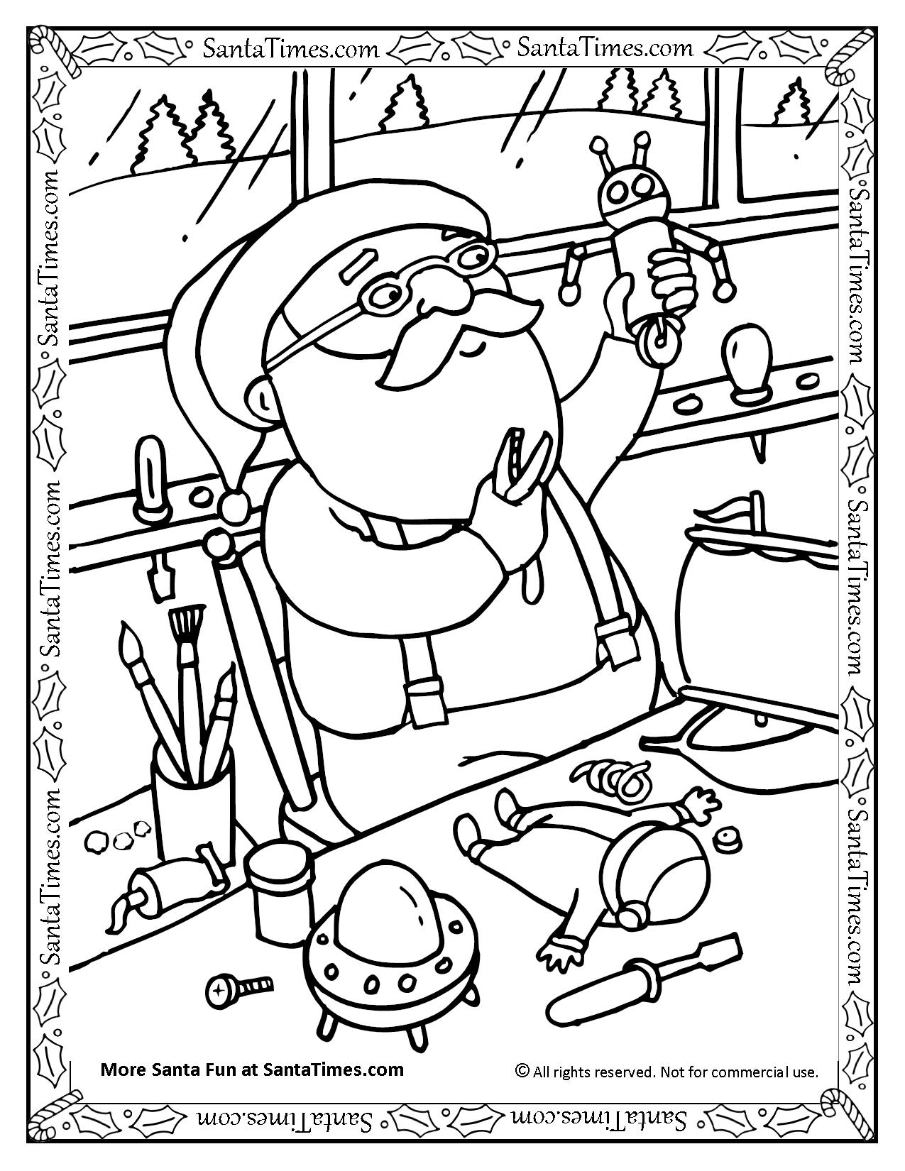 1275x1650 Santa In The Workshop