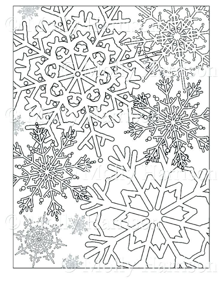 741x960 Imposing Ideas Snowflake Coloring Pages Snowflake Printable