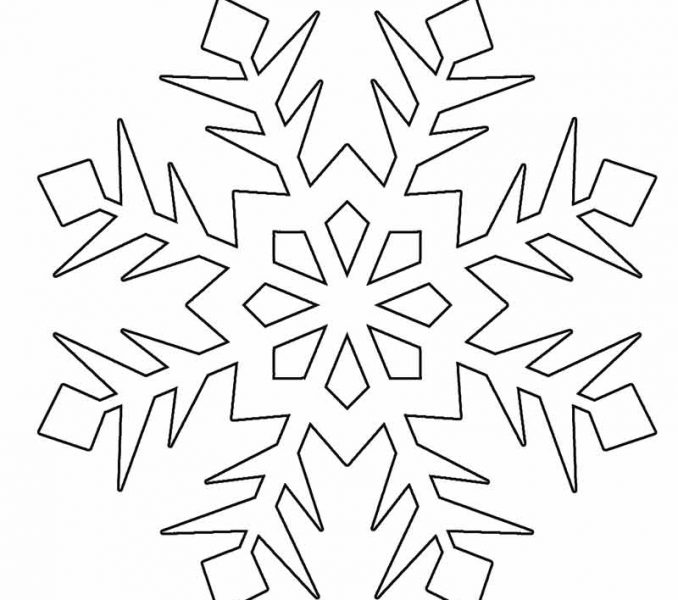 678x600 Snowflake Coloring Coloring Pages To Print Coloring Pages