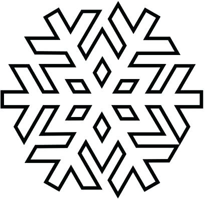 409x400 Snowflakes Coloring Pages Printable Snowflake Coloring Pages