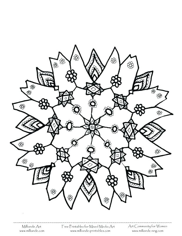 618x800 Snowflake Pictures To Print