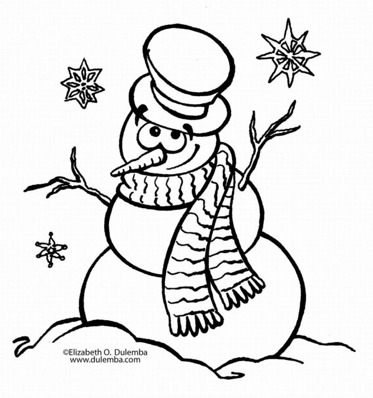 728x778 Coloring Book And Pages Awesome Snowman Coloring Pages Photo