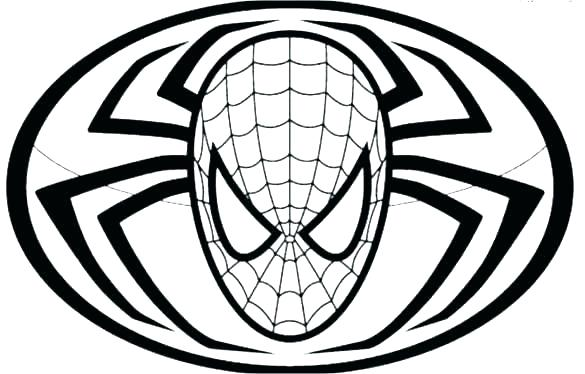 585x374 Spider Man Coloring Pages Black Coloring Pages Black Spiderman