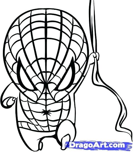 459x526 Spiderman Cartoon Coloring Pages Free Printable Coloring Sheets