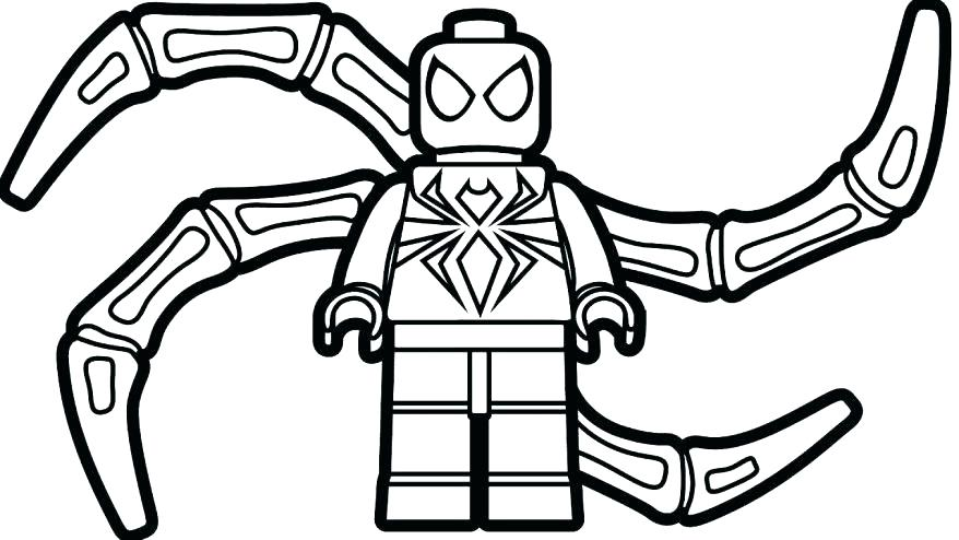 Easy Spiderman Coloring Pages at GetDrawings.com | Free for ...