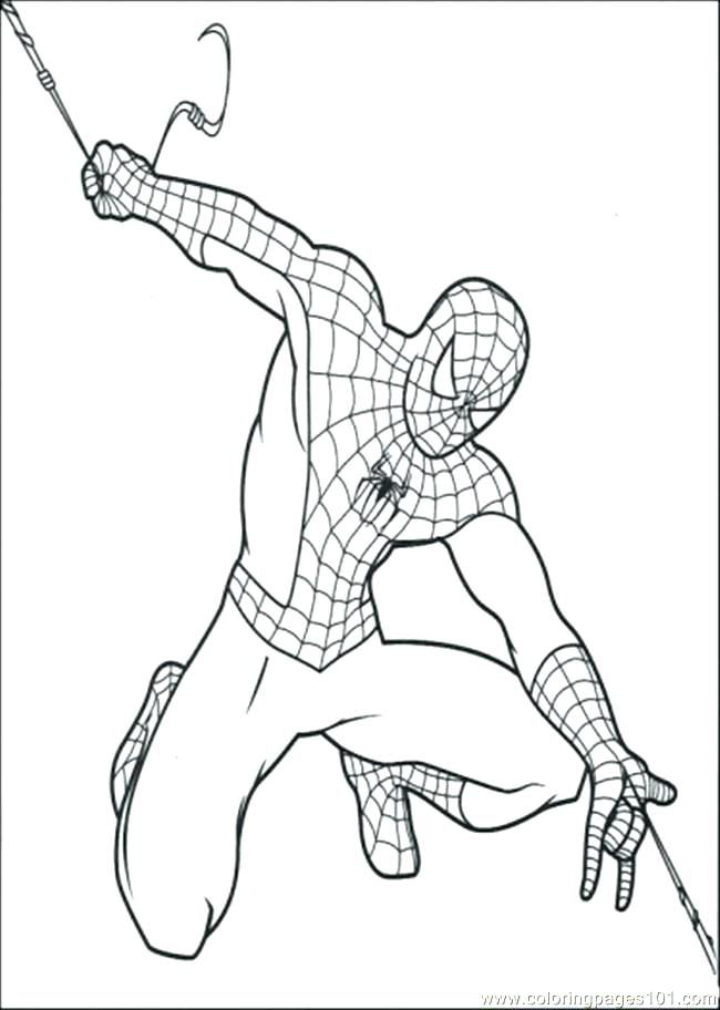 650x912 Spiderman Coloring Page Coloring Pages Easy Pictures Of Black Many