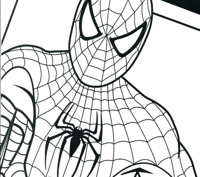 678x600 Spiderman Coloring Page Great Free Printable Coloring Pages