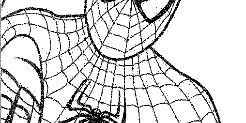 1000x500 Spiderman Coloring Pages For Preschoolers
