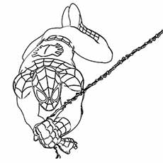 230x230 Top Free Printable Spiderman Coloring Pages Online