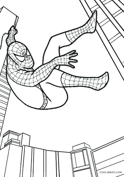 431x612 Spiderman Coloring Pages