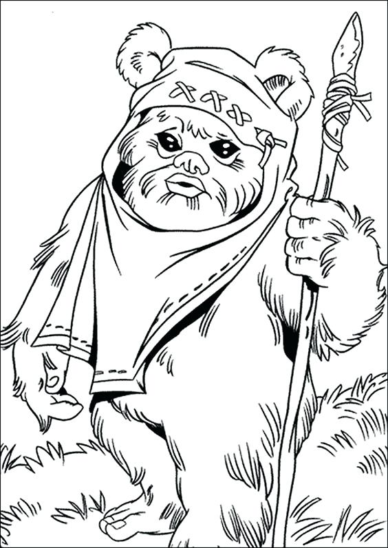 Easy Star Wars Coloring Pages at GetDrawings.com | Free for ...