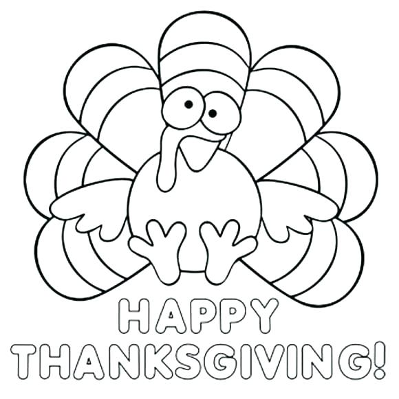 580x581 Easy Thanksgiving Coloring Pages Thanksgiving Coloring Pages