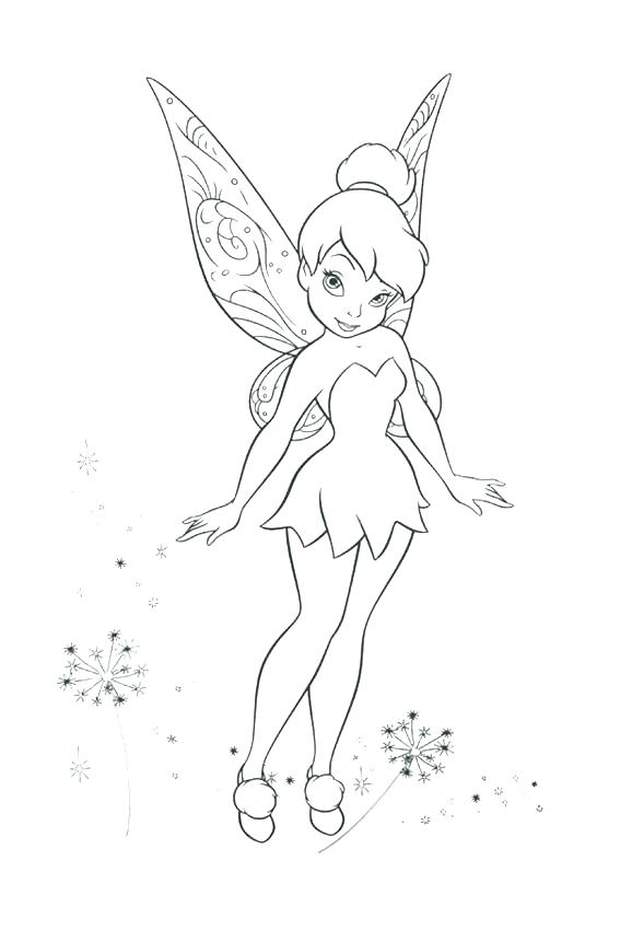 567x850 Tinkerbell Coloring Pages Coloring Page Enchanting Coloring Pages