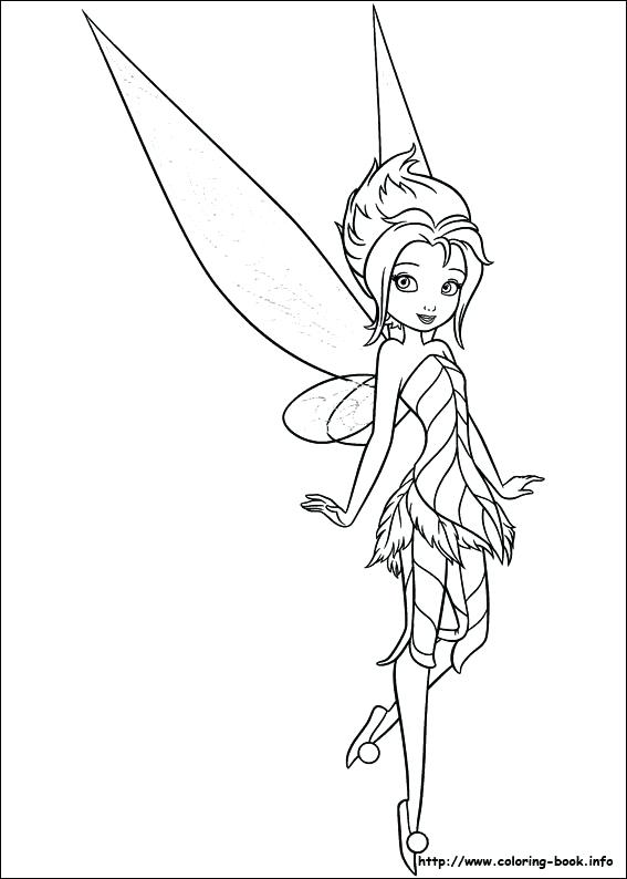 567x794 Tinkerbell Coloring Pages Coloring Pages Pictures To Print