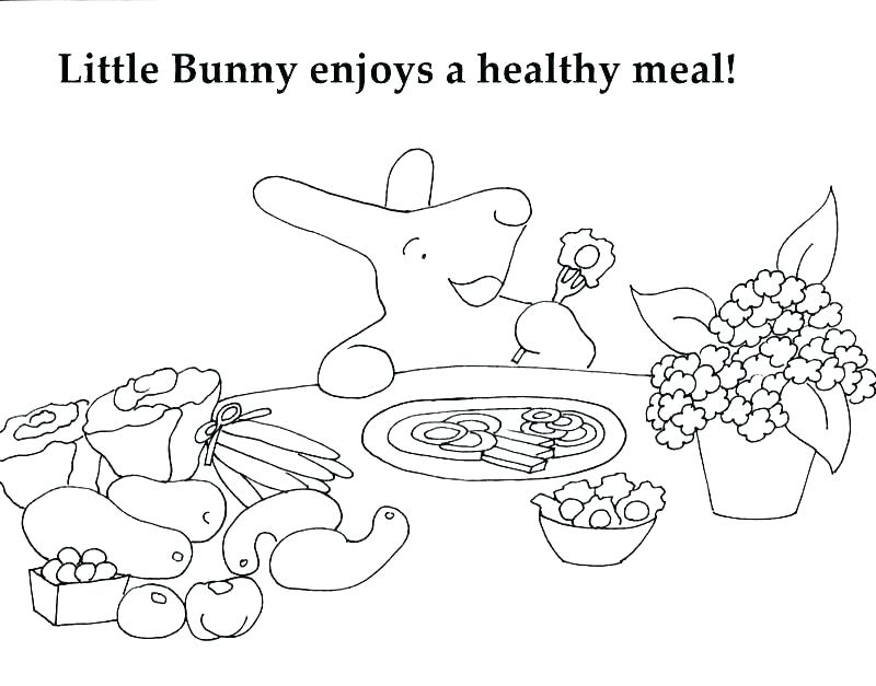 800x627 Healthy Eating Coloring Pages Healthy Eating Breads And Grains