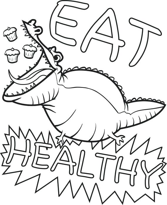 569x700 Healthy Eating Coloring Pages Healthy Foods Coloring Pages Healthy