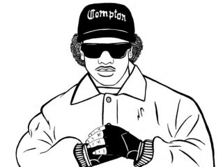 320x240 Eazy E Coloring Pages Ingenious How To Draw Eazy E Tupac