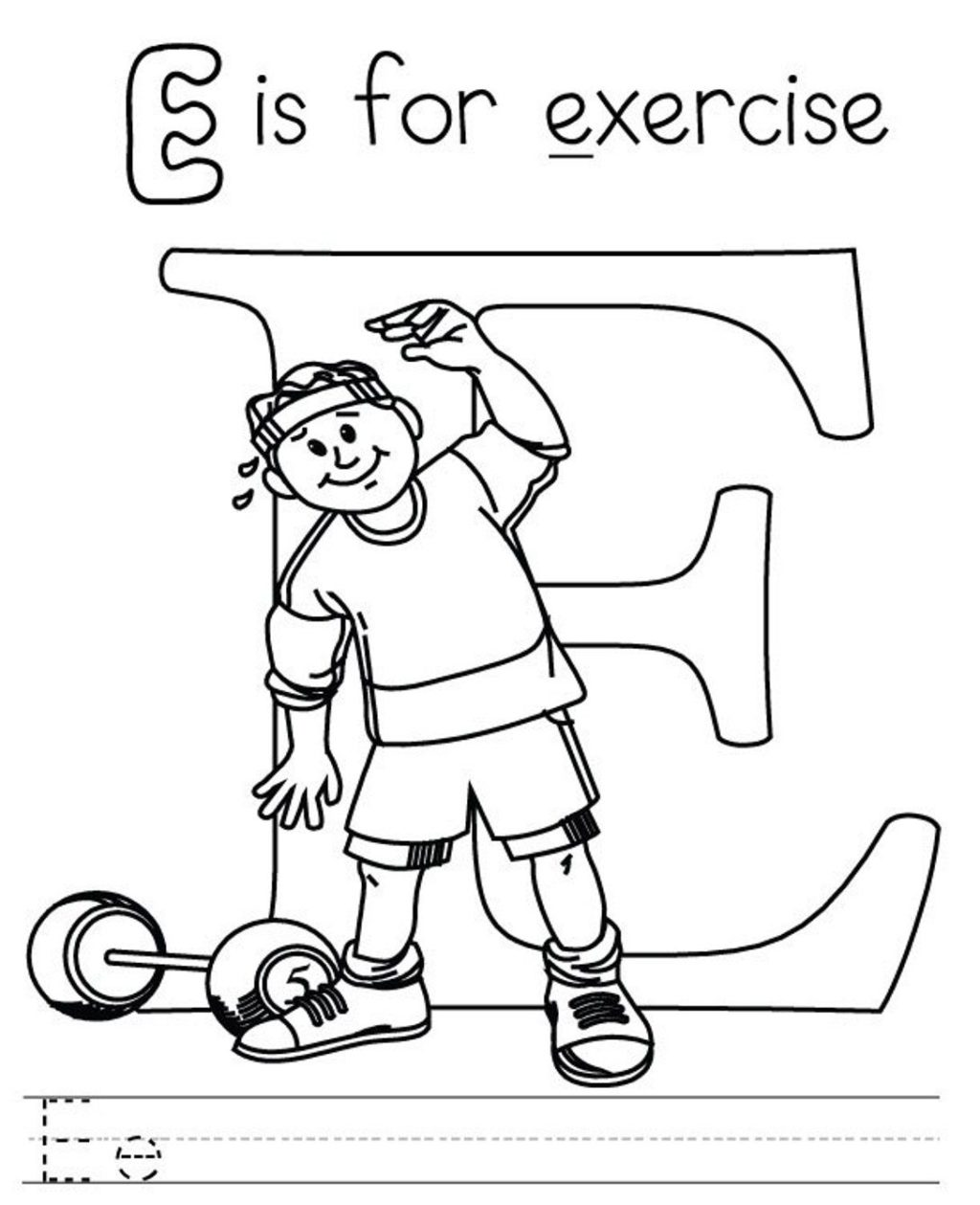 1024x1259 Letter E Coloring Pages