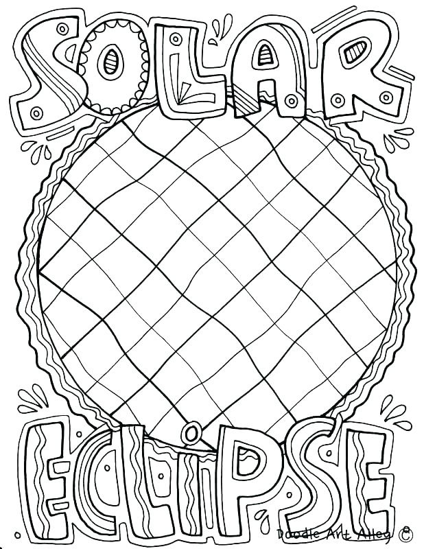 618x800 Total Solar Eclipse Coloring Pages Christian Coloring Page