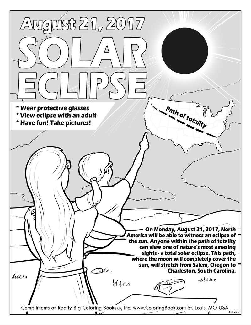 800x1035 Coloring Books Solar Eclipse Free Online Coloring Page