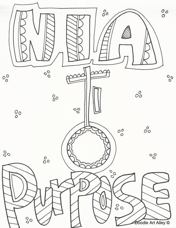 618x800 Kwanzaa Coloring Pages
