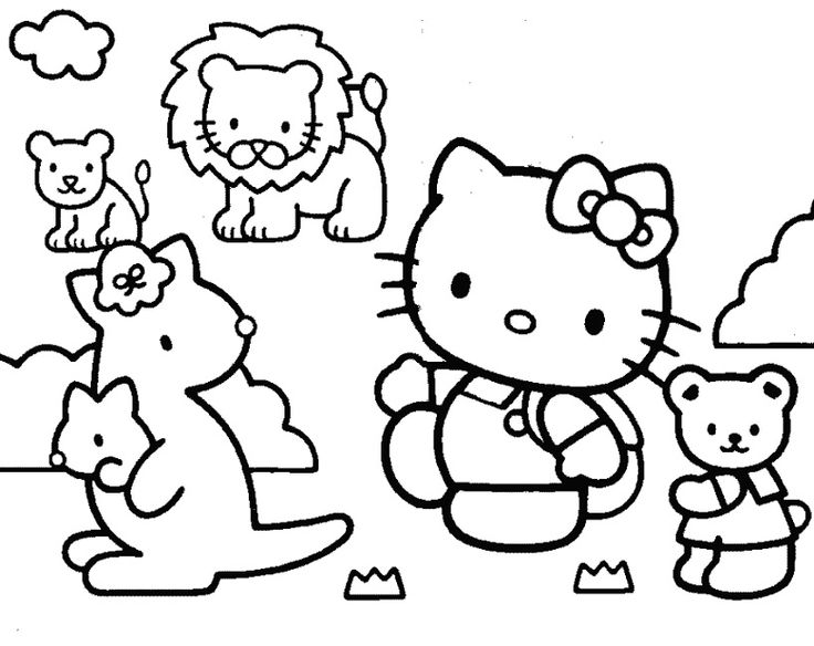 Educational Coloring Pages For Kindergarten