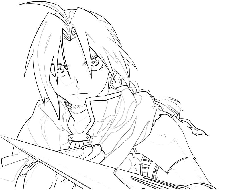 800x667 Edward Elric Coloring Pages