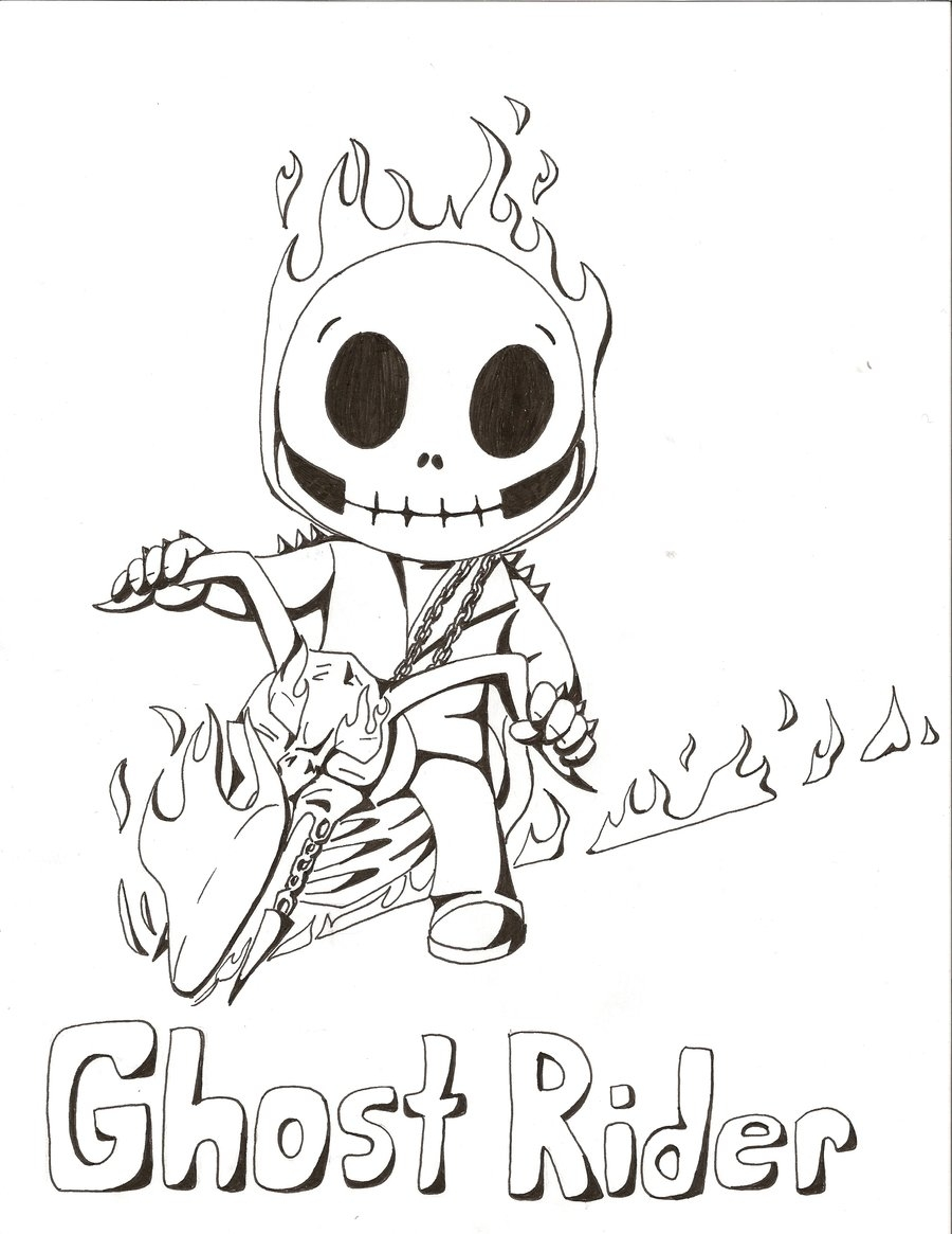 900x1165 New Ghost Rider Coloring Pages Free Coloring Pages Download