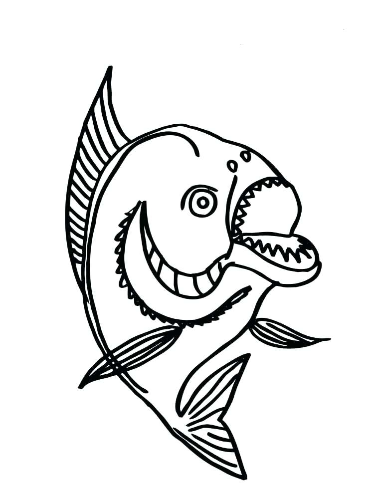 750x1000 Gulper Eel Coloring Page Color Free Coloring Printable Moray Eel