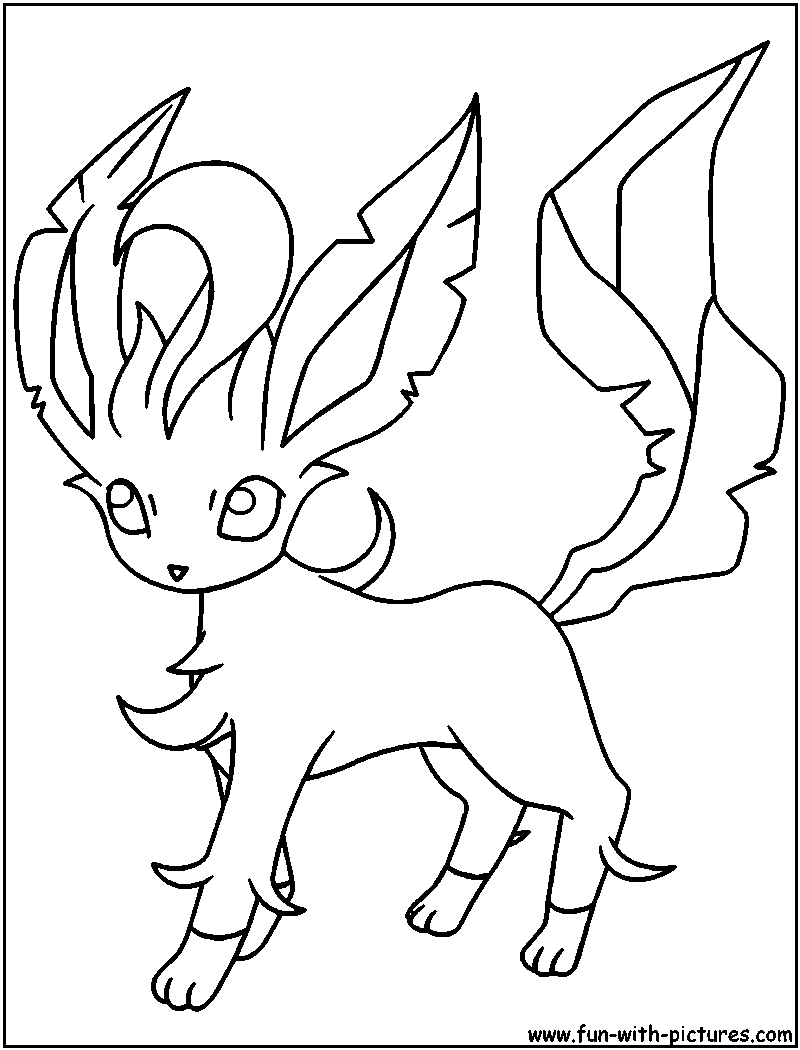Eevee Coloring Pages To Print At Getdrawings Com Free For