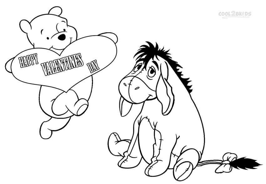 850x588 Printable Eeyore Coloring Pages For Kids