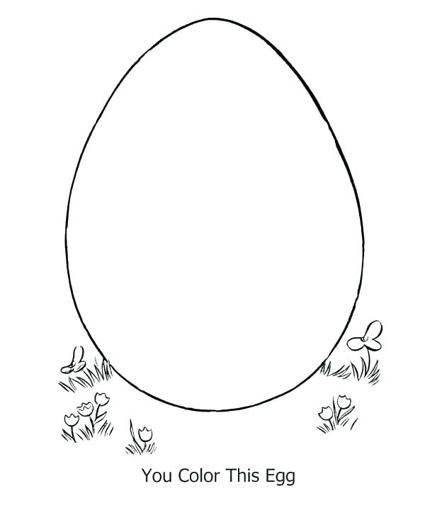 600x734 Egg Coloring Pages Egg Coloring Pages Egg Online Kids For Egg