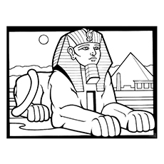 Egyptian Cat Coloring Pages At Getdrawings Free Download