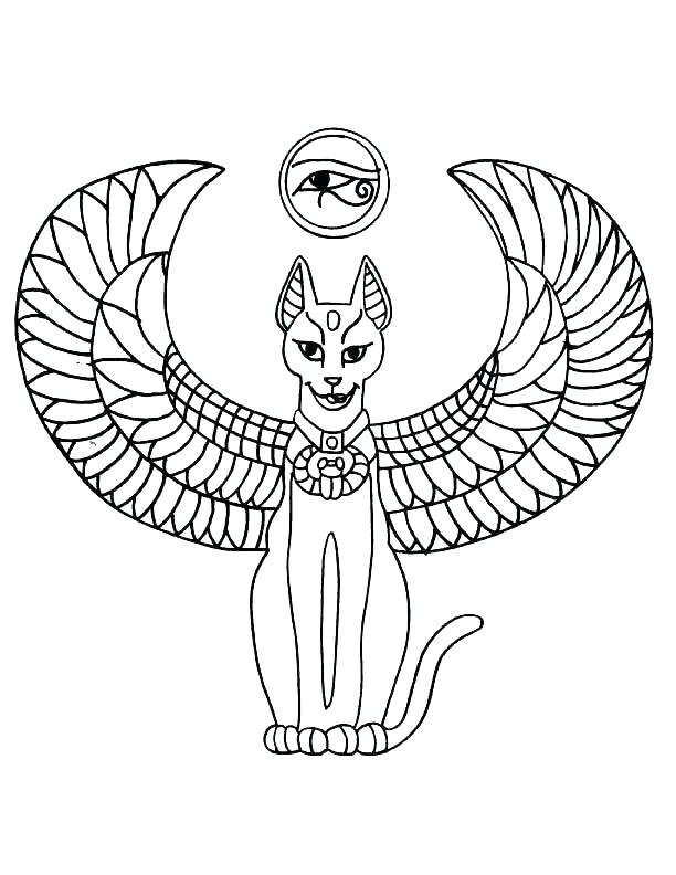 Egyptian Coloring Pages At Getdrawings Free Download