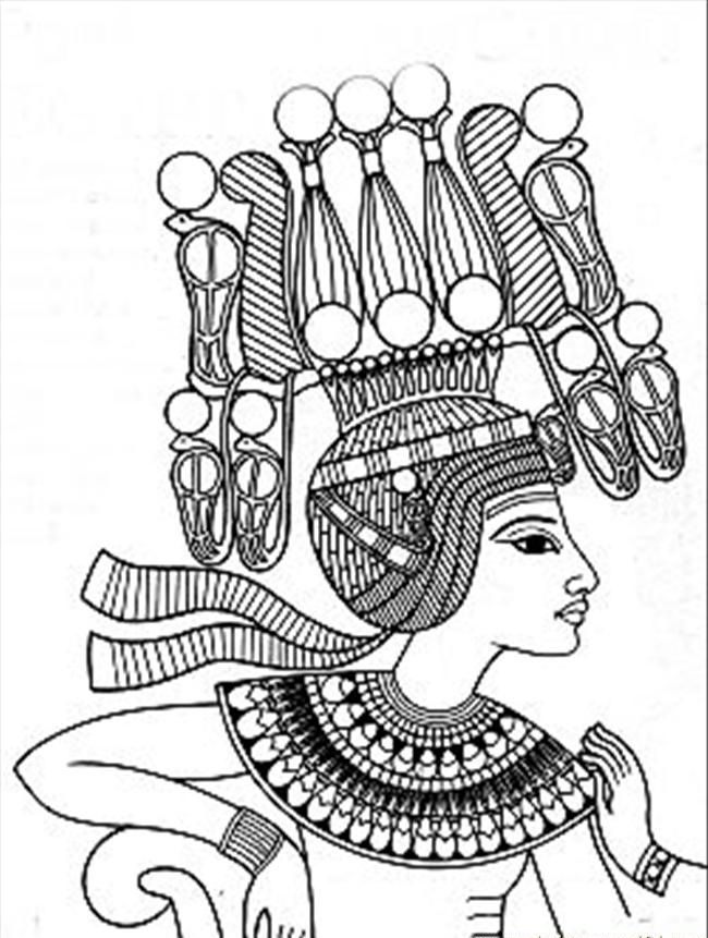 650x861 Free Printable Ancient Egypt Coloring Pages For Kids Ancient