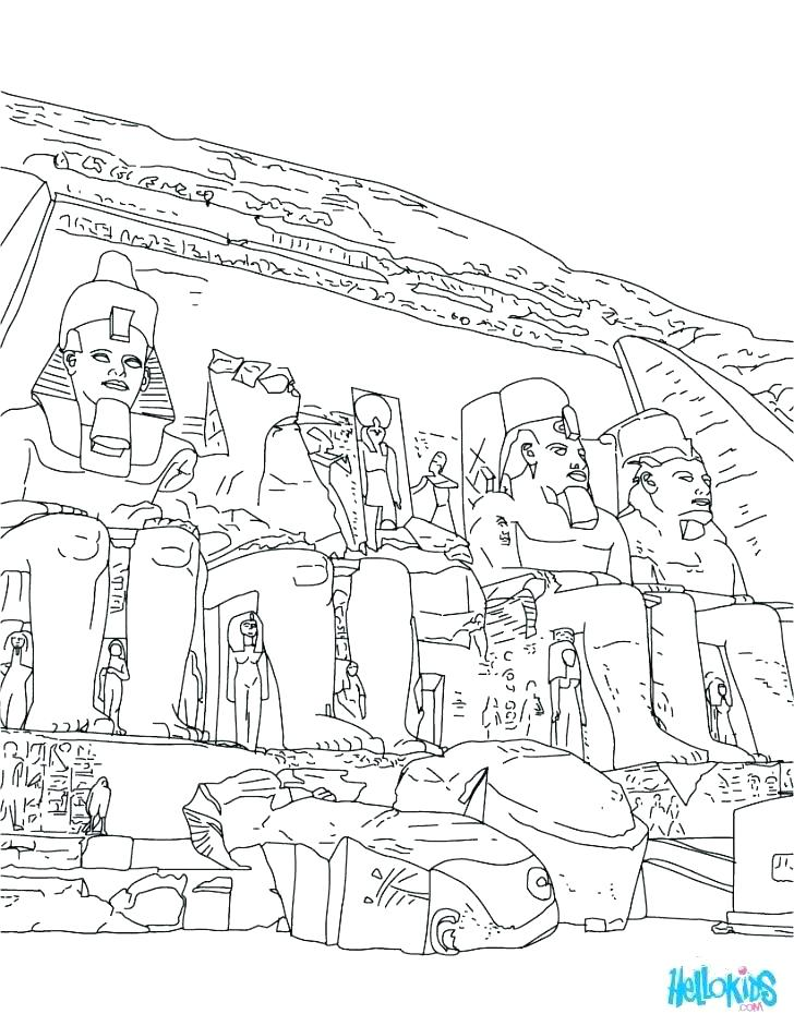 728x941 Ancient Egypt Coloring Pages Ancient Coloring Pages Ancient