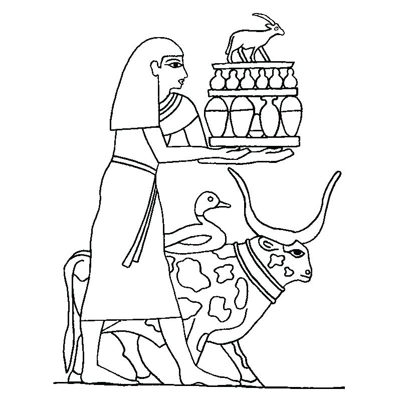 800x794 Ancient Egypt Coloring Pages Ancient Coloring Pages Fresh Ancient
