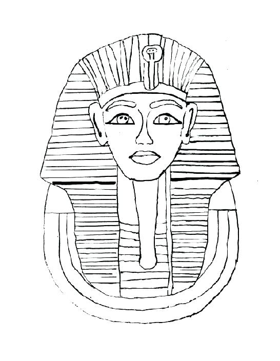 546x704 Egyptian Mummy Coloring Pages Coloring Page King Tut Awesome Mummy